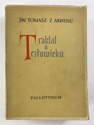 Św. Tomasz z Akwinu Traktat o człowieku