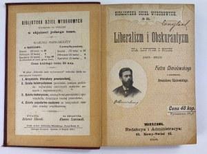 Chmielowski Piotr, Liberalizm i obskurantyzm na Litwie i Rusi (1815-1823)