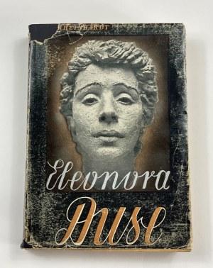 [obwoluta] Rheinhardt Emil Alphons, Eleonora Duse. Powieść biograficzna