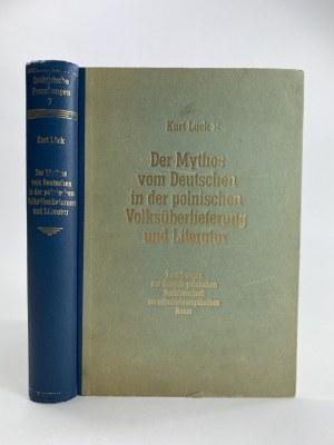 [Poznań 1943] Lück Kurt Der Mythos vom Deutschen [Polskie mity na temat Niemców w życiu codziennym i literaturze]
