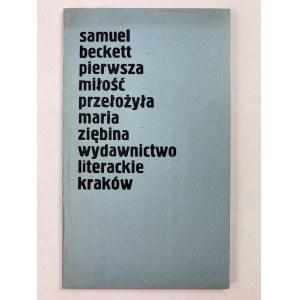 Beckett Samuel, Pierwsza miłość [wydanie I]