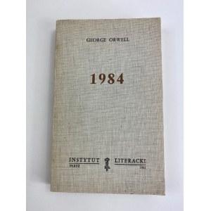 Orwell George 1984 Instytut Literacki Paryż 1983