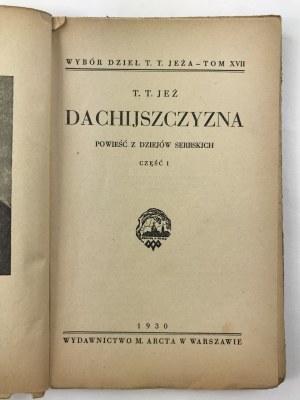 Jeż Tomasz Teodor Dachijszczyzna część I [M. Arct]