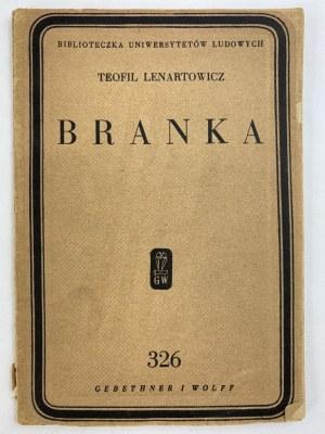 Lenartowicz Teofil, Branka