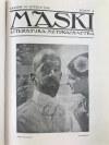 Maski zeszyty 1-36 1918 [rocznik czasopisma]