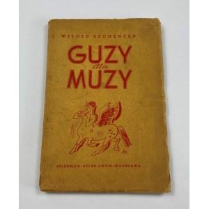 Zechenter Witold, Guzy dla muzy. Fraszki satyry parodie [okładka K. Sopoćko]