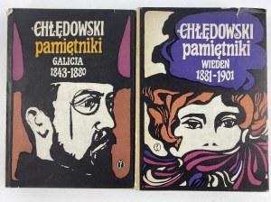 Chłędowski Kazimierz, Pamiętniki t. 1-2 Galicja - Wiedeń [wydanie II uzupełnione]