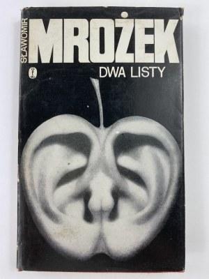 Mrożek Sławomir, Dwa listy