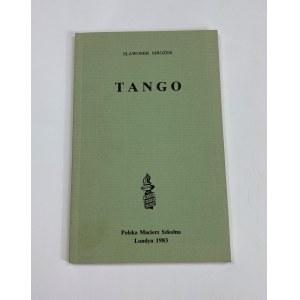 Mrożek Sławomir Tango [Pierwsze wydanie osobne]