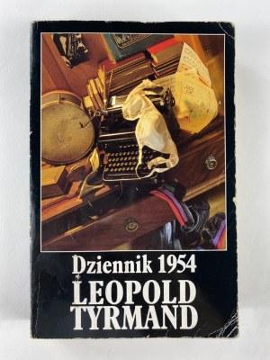 Tyrmand Leopold, Dziennik 1954