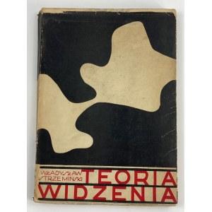 Strzemiński Władysław, Teoria widzenia [wydanie I]
