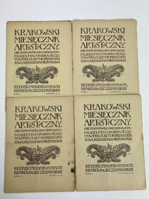 Krakowski Miesięcznik Artystyczny [kompletny rocznik 1911][10 numerów]