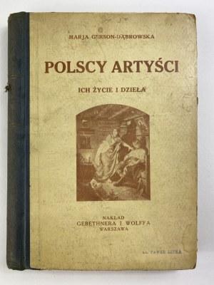 Gerson-Dąbrowska Marja, Polscy artyści: ich życie i dzieła ze 153 ilustracjami [wydanie II]