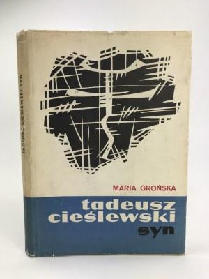 Grońska M., Tadeusz Cieślewski syn [Monografia twórczości artystycznej jednego z najznakomitszych polskich grafików]