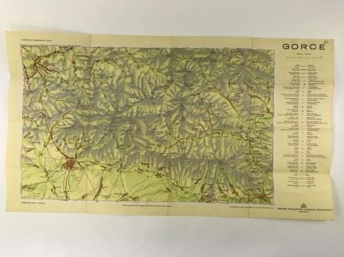 [Mapa] Gorce w skali 1 : 75 000