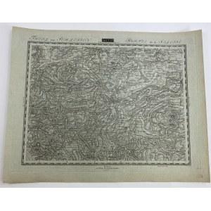 [Świdnica, Jawor, Legnica, Kąty Wrocławskie] Sekcja 87 z Topographisch- militarische Charte von Teutschland.