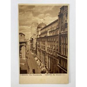 Karta pocztowa Warszawa ulica Świętokrzyska