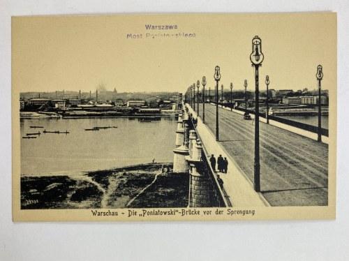 Karta pocztowa Warszawa Most Poniatowskiego