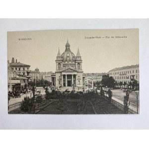 Karta pocztowa Warszawa Alexander-Plaz - Plac św. Aleksandra