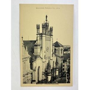 Karta pocztowa Warszawa Katedra św. Jana / Warschau - Johannes-Kathedrale
