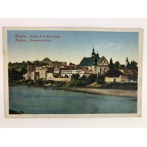 Karta pocztowa Kraków Klasztor p. p. Norbetanek / Norbertiner-Kloster