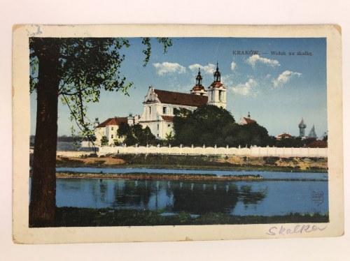 Karta pocztowa Kraków Widok na Skałkę, Wydawnictwo Salonu Malarzy Polskich, Kraków 1911