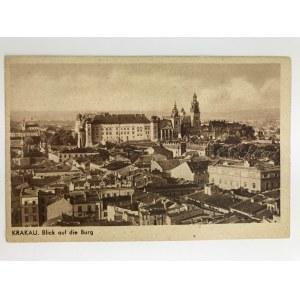 Kraków Blick of die Burg [znaczek Generalnego Gubernatorstwa]