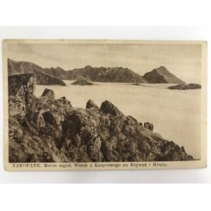 Karta pocztowa Zakopane. Morze mgieł.