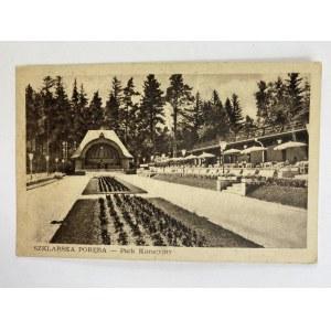 Karta pocztowa Poręba - Park kuracyjny