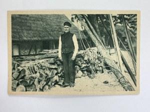 Karta pocztowa Typ rybaka