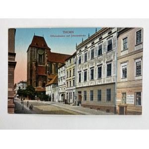 Karta pocztowa Thorn Offizierskasino und Johanniskirche [Toruń]