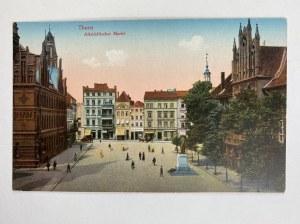 Karta pocztowa [Toruń] Thorn Altstädtischer Markt