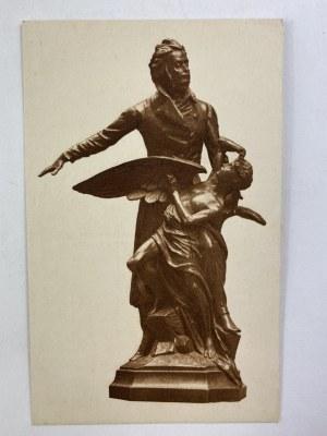 Karta pocztowa Mickiewicz Rotograwiura Muzeum Narodowe w Krakowie