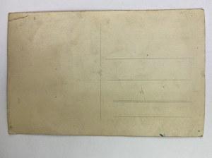 Karta pocztowa Kobieta w welonie