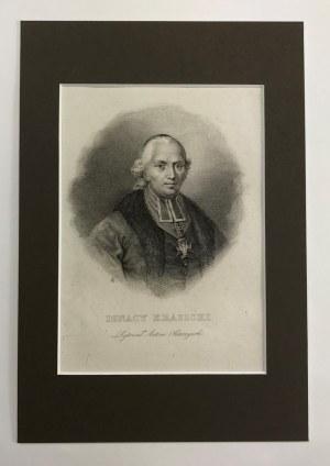 Ignacy Krasicki. Staloryt autorstwa Antoniego Oleszczyńskiego (1794-1879)