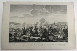 [Akwaforta] Mort du prince Louis de Prusse [Śmierć księcia Ludwika Pruskiego]