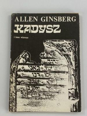 [Autograf!] Ginsberg Allen, Kadysz i inne wiersze [I polskie wydanie]