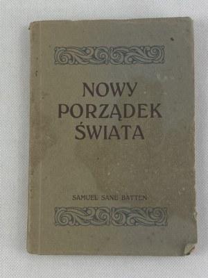 Batten Samuel Sane Nowy porządek świata 1922