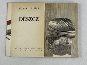 Mrożek Sławomir, Deszcz [wydanie I][ilustracje Daniel Mróz]