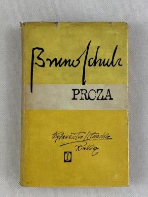 Schulz Bruno Proza - Sklepy cynamonowe - Sanatorium pod Klepsydrą
