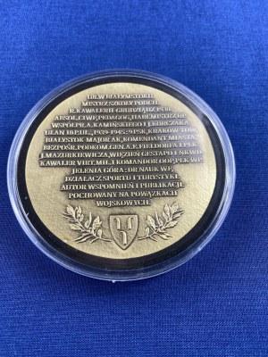 Medal z portretem płk dr Czesława Hake