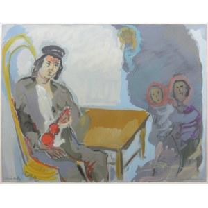 Emmanuel Katz (zw. Mané-Katz) (1894 Krzemieńczuk - 1962 Tel Awiw), Kompozycja
