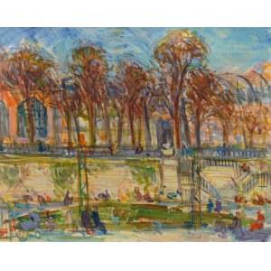 Stanisław Eleszkiewicz (1900 Czutowo k. Połtawy - 1963 Paryż), W parku