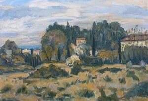 Michel Adlen (1898 Łuck – 1980 Paryż), Pejzaż śródziemnomorski