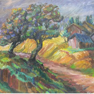 Zbigniew Cichowski (1913 Jarocin-1984 Tarnowskie Góry), Pejzaż