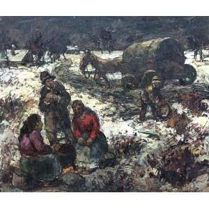 Maurice Vagh-Weinmann (1899 Budapeszt – 1986 tamże), Tabor cygański