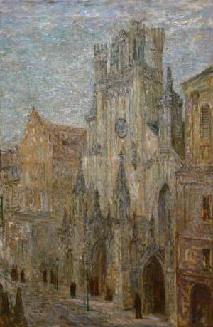 Konstanty Mackiewicz (1894 Małoryta/k.Brześcia - 1985 Łódź), Katedra św. Jana w Warszawie, przed 1939 r.