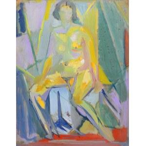 Jan (Jean) Ekiert (1907-1993), Akt siedzącej kobiety