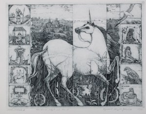 Ryszard Stryjec (1932 Lipniszki k. Lidy-1997 Gdańsk), Jednorożec II, 1989 r.