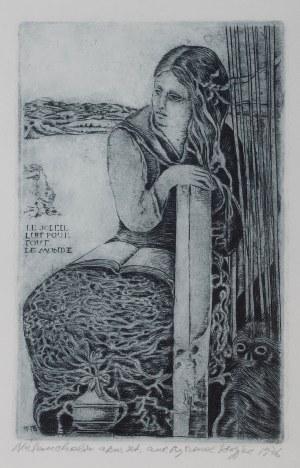 Ryszard Stryjec (1932 Lipniszki k. Lidy-1997 Gdańsk), Melancholia, 1986 r.